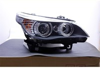 eOsuns headlight assembly for BMW 5 series E60 520 523 525 530 2003 2010 whit hernia