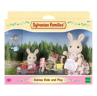 Sylvanian Families Toy Sylvanian Families Baby Outing Case GIRL'S Play House Doll 5040