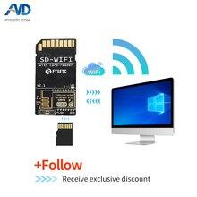 FYSETC 1 قطعة SD WIFI مع وحدة قارئ بطاقة تشغيل espwebdave على متن USB إلى وحدة نقل لاسلكية رقاقة المسلسل ل S6 F6