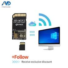 Fysetc 1個SD WIFIとカードリーダーモジュール実行espwebdevオンボードusbシリアルチップワイヤレス伝送モジュールs6 F6