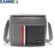 Sanne 9l Водонепроницаемая джинсовая сумка для ланча изолированная