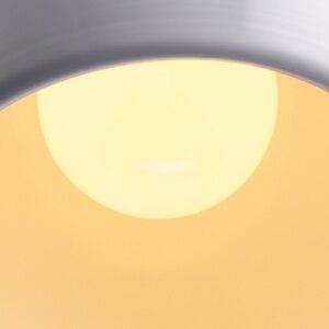 Image 4 - Semplice Pendente della sfera luci 20cm 25cm in Bianco e Nero E27 lampade a Sospensione Ristorante Apparecchio di Illuminazione