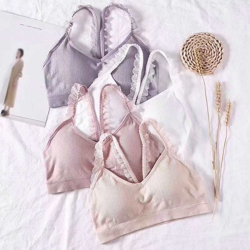 Breathable Lace Beauty Back Tube Top Female Wrapped Chest Women Summer Bras