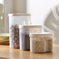 Household Food Storage Organizer Container Crisper Fruit Vegetable Storage Boxes For Kitchen Seal Lid