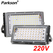 50W 100W Outdoor LED Flutlicht Projektor Beleuchtung AC 220V 240V Straße Scheinwerfer Flutlicht Lampe Wasserdicht außen Reflektor