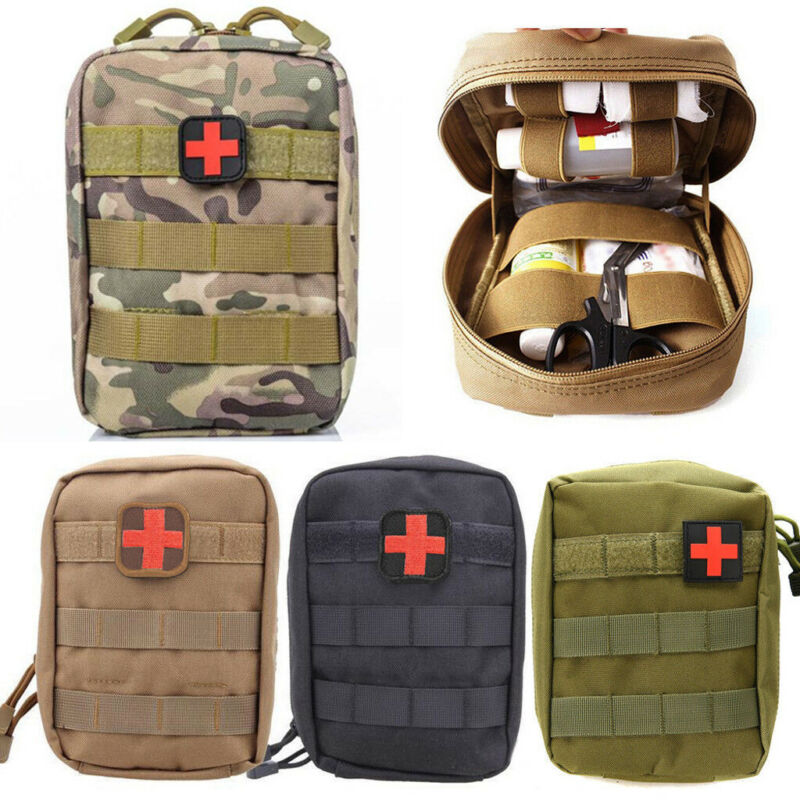 Tactical Medical First Aid Bag Kit Outdoor Camping Hunting Emergency Molle Bag
