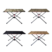 Dinner-Desk Outdoor-Furniture Foldable Camping-Table Picnic Aluminum-Alloy for Family