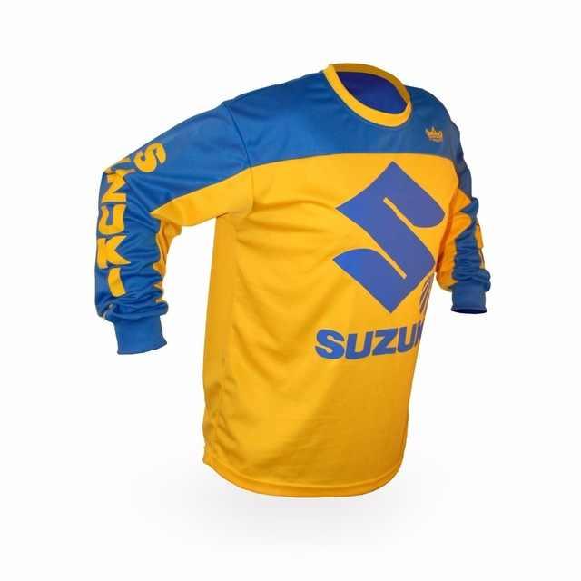 2019 estilo para Suzuki Motocross Jersey Mx Enduro Motocross cuesta abajo Jersey Offroad motocicleta Mx Dh Bmx de carreras de ciclismo