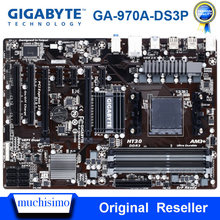 Hembra AM3/AM3 + original se Gigabyte GA-970A-DS3P placa base de escritorio DDR3 32GB PCI-E 2,0 AMD 970 AM3/AM3 + DDR3 placa base
