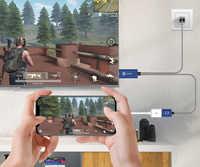 GameSir GTV100 Mini Mobile 1M 1920*1080P HDMI câble adaptateur d'affichage pour iPhone/iPad iOS appareils Apple et convertisseur de câble TV