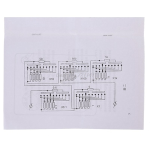 Image 5 - 0 9999.9 Ohm Variable Resistance Box Decade Resistor Experimental Equipment For Physical School Teaching dropship