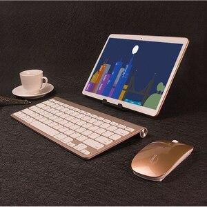 4G T6 Tablet PC 10.1 Cal Octa Core podwójny karty SIM 1920*1200 8GB pamięci RAM 128GB ROM WiFi GPS LTE Android 9 telefon otrzymać telefon zwrotny od typu C