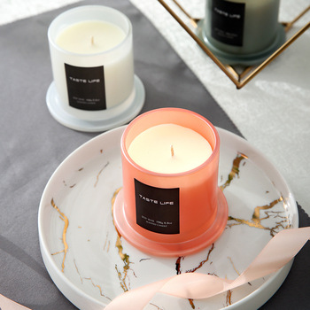 Aromatherapy Glass Vegetable Wax Candle 2