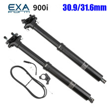 Bike Seatpost Ks-Exa Adjustable 125mm Bicycle Height Travel Hydraulic-Lifting MTB 395mm