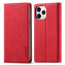 Iphone 12プロケース高級フォリオマット革磁気tpuバック電話カバーiphone 12プロ最大12 11 xs max x