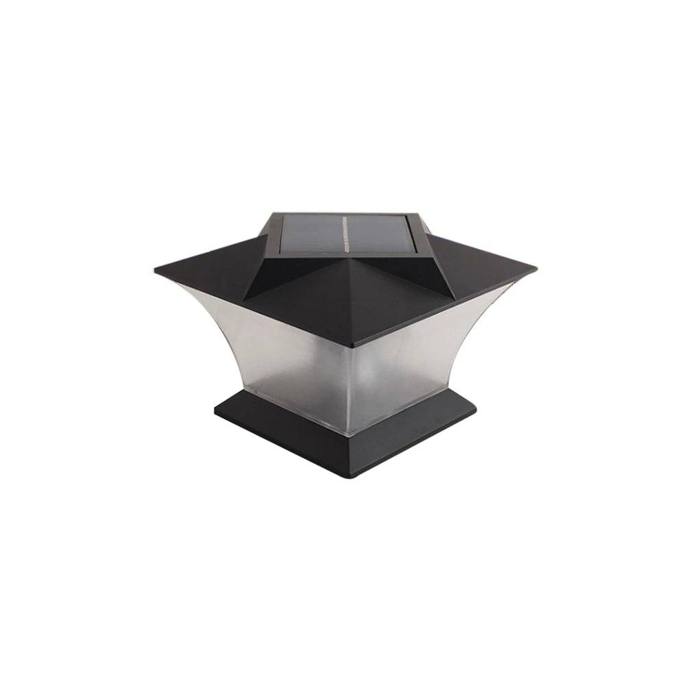 Solar Column Head Light Outdoor Waterproof Door Column Wall Lamp European Villa Led Wall Lamp|Solar Lamps| |  - title=