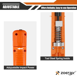 Image 4 - Punch Down Tool, Zoerax 110 Type Network Cable Tool Double Blades Ethernet Impact Terminal Insertion Tools
