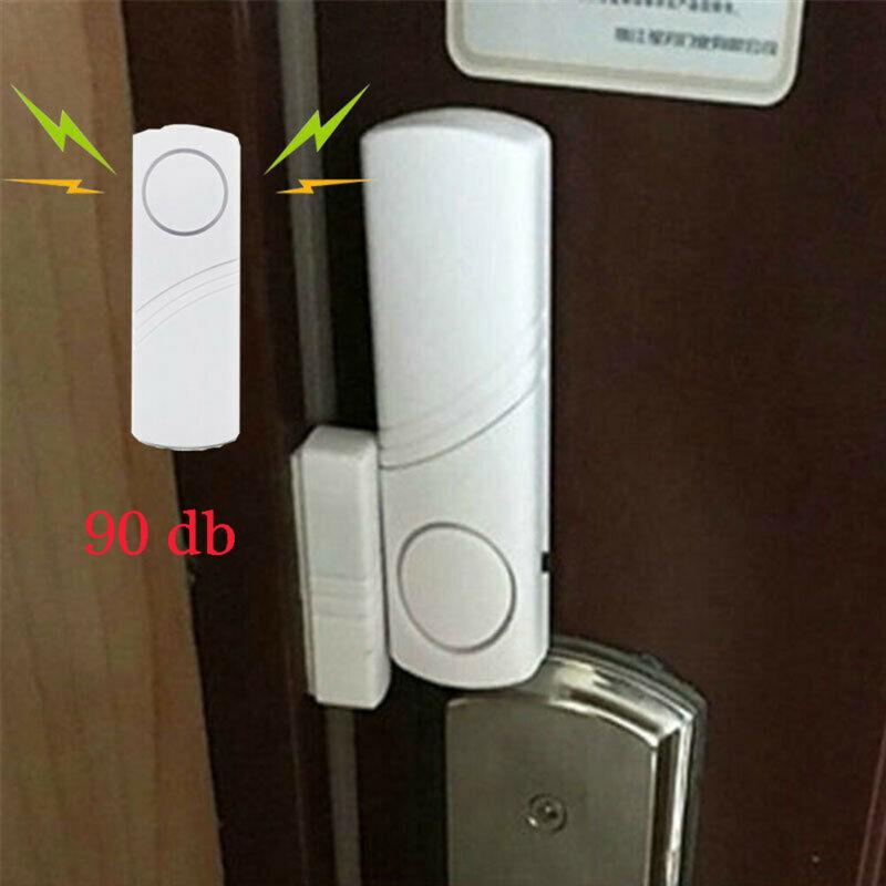 Alarm Door Sensor Magnetic Wireless Alert Bell Entrance Business Kit Chime Entry