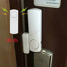 Alarme sensor de porta magnético sem fio, alerta de entrada e carrilhão para negócios