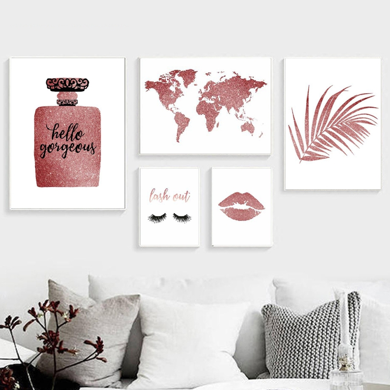 Fashion Poster Print Living Room Decor