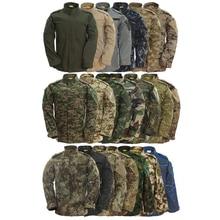9 видов цветов, камуфляжная армейская Мужская спецназа Usmc, военная форма, боевая рубашка, рабочая одежда, тактическая одежда размера плюс, комплект со штанами