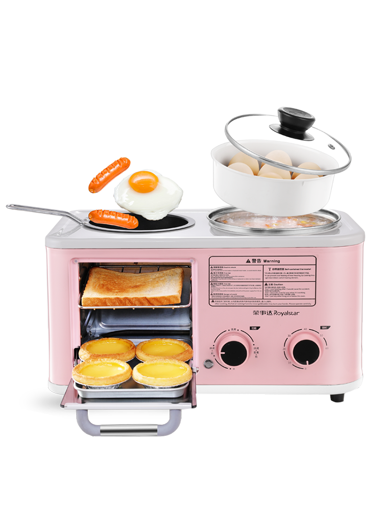 Multifunctional Breakfast Machine Four In One Toaster Small Toaster Kitchen Appliances Bread Makers Aliexpress