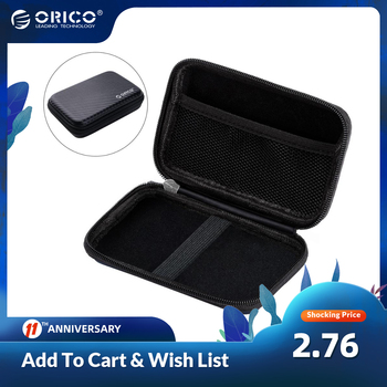 ORICO 2.5 inch Hard Drive Portable HDD Protector Bag External Hard Drive Storage Bag for SSD/Earphone/U Disk HDD Case 1