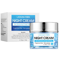 LAGUNAMOON Face Cream Skin Renewing Night Cream For Face Peptide Complex Hyaluronic Acid Hyaluronic Face Moisturizer For Women 3