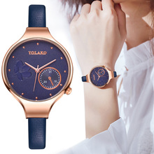 Rose Gold Women Bracelet Watches For