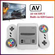 Portable TV Video Game Console 8Bit System 620 AV Output Games Built-in Dual Gamepads Mini Retro Game Consoles
