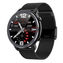 L11 Smart Watch Men Women ECG SmartWatch Heart Rate Monitor Full Round Touch IP68 Fitness Tracker Bracelet