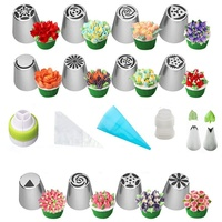Set Nozzle Tips cake nozzle baking tools For Home Kitchen Restaurant Cake Tools