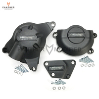 Black Motorcycles Engine Protection Cover Water Pump Covers Case for GB Racing For YAMAHA YZF R6 YZF600 R6 2006 2019