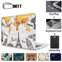 MTT アップル Macbook Air 11 13 プロ 13 15 網膜スケルトンプリントシェルマックブックプロ新 12 インチのラップトップスリーブ