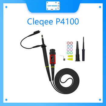Cleqee P4100 1PCS Oscilloscope Probe 100:1 High Voltage Withstand 2KV 100MHz for Oscilloscope wholesale 1