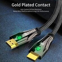HDMI compatible 2.1 cable 8K cable HDCP2.2 UHD HDR eARC 3D Haute Vitesse 8K@60Hz4K@120Hz 2M 3M for PS5 xiaomi Box HDTV Projector