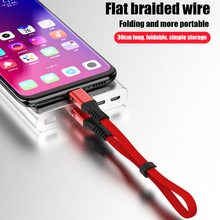 Powerbank Cable Micro USB Fast Charging Data For Short for iPhone Xiaomi huawei Samsung