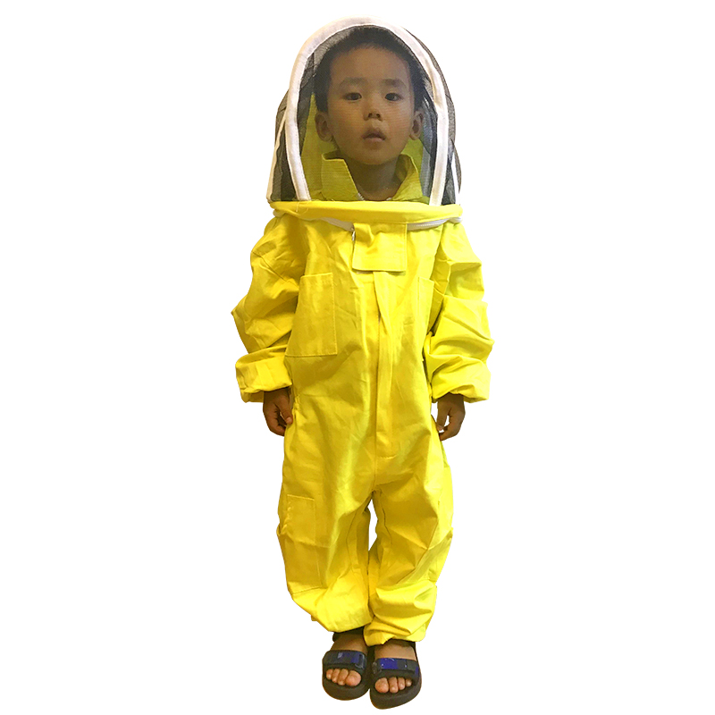 Children Anti-bee Protective Clothing Beekeeping Tools Kid Beekeeping Breathable Suit For Kids Bee Protective Clothes Beekeeping