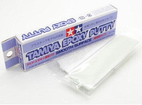 Tamiya Superfície Lisa Escultura Cola Epoxy Massa 25g Plástico Modelo Artesanato Ferramentas 87052
