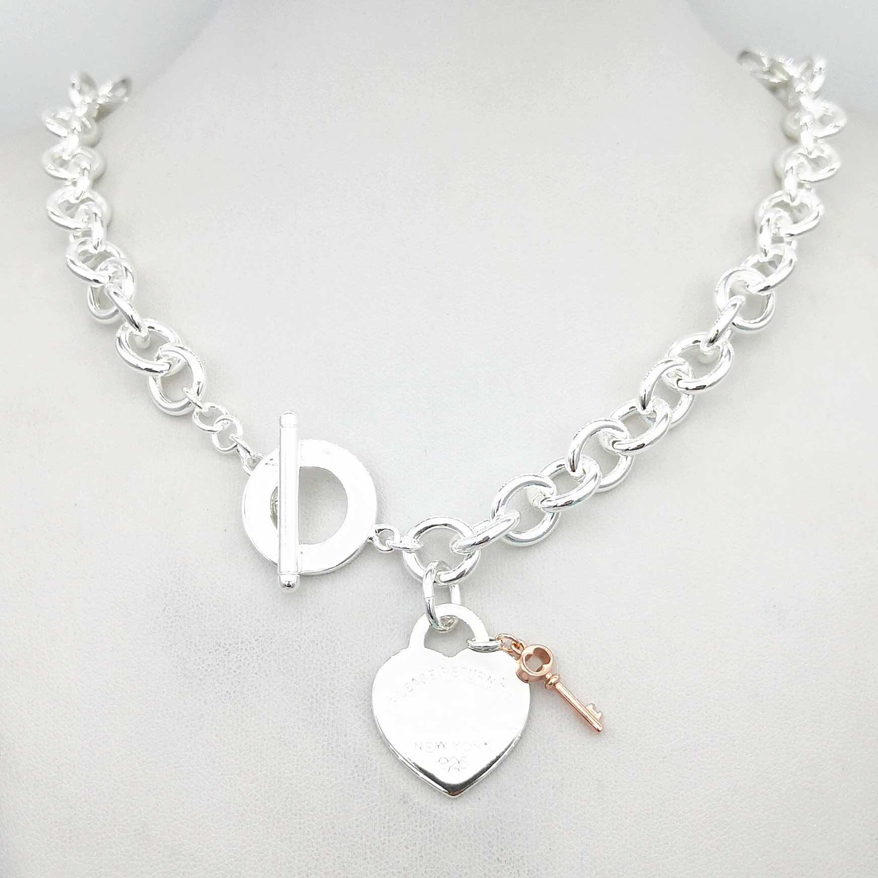Sterling Silver Key Charm