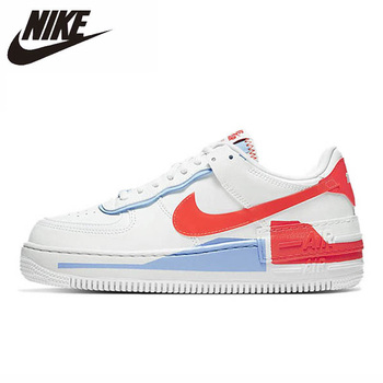Nike Air Force 1 Shadow SE Low Women Skateboarding Shoes Original Comfortbale Balance Outdoor Sports Sneakers CQ9503-100