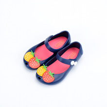 Mini Melissa Style Sandals Girls Jelly Sandals Fruit New Girls Jelly Shoes