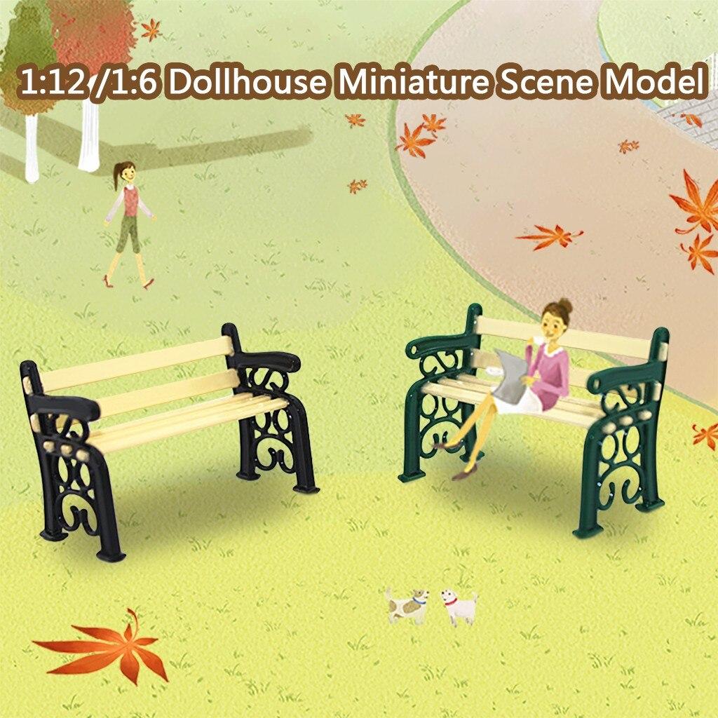 1:12 Dolls House mini Baby couches miniatures modèle de scène