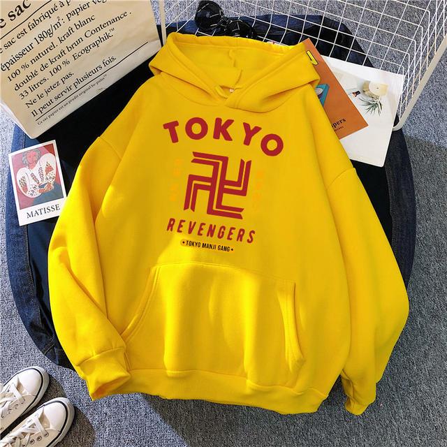 TOKYO REVENGERS THEMED HOODIE (20 VARIAN)
