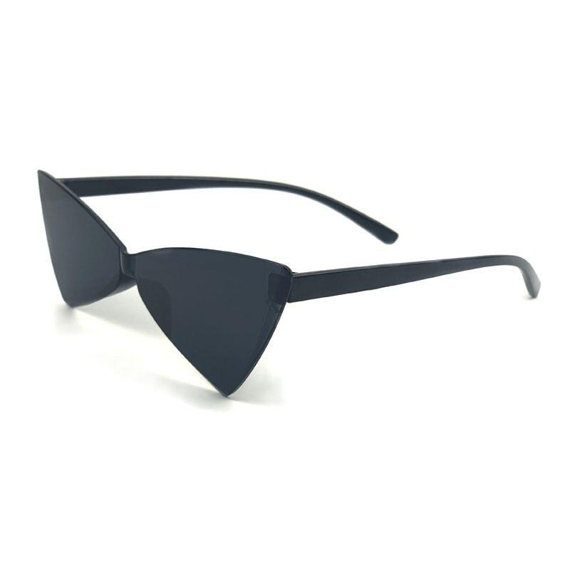 Sexy Cat Eye Bow Sunglasses Women Vintage Retro Luxuty Brand Sunglases UV400 Black Shades Retro Sunglasses Women