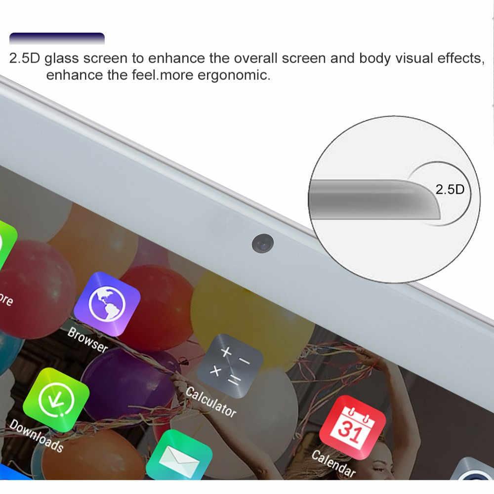 2020 Tablet 2.5D ekran 10.1 Tablet Mutlti dokunmatik Android 8.0 Octa çekirdek Ram 6GB ROM 128GB kamera Wifi 10.1 inç Tablet 4G FDD
