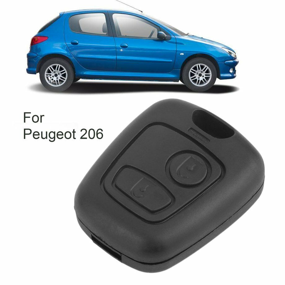 2 BUTTON REMOTE KEY FOB CASE FOR PEUGEOT 106 107 206 207 307 406 407 SHELL Cover