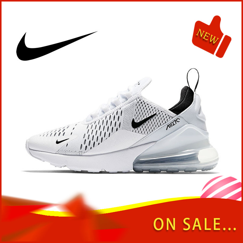 Original Authentic Nike Air Max 270 Women's Running Shoes Classic Outdoor Fashion Sports Shoes Comfortable Breathable AH6789-100