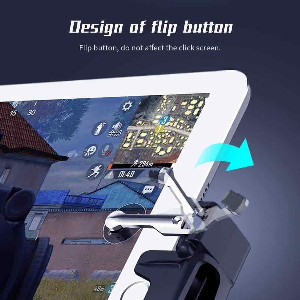 BEESCLOVER H7 Pad Tablet Game Controller 4 Vinger Bediening Mobiele Game Joystick voor Andriod iOS