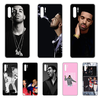 Rapper Aubrey Drake Graham Phone Case cover For HUAWEI p 8 9 10 20 30 40 P pro Smart 2017 2019 Z lite transparent cover tpu image